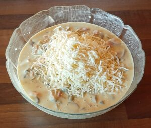 Cake lardons olives champignons 16