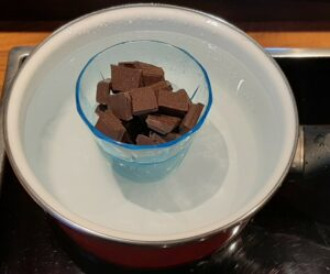 Cake marbre au chocolat 5