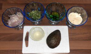 Avocats gratines au parmesan 1