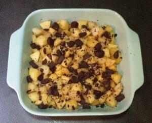 Crumble pommepoire aux pepites de chocolat 12