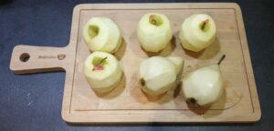 Crumble pommepoire aux pepites de chocolat 2
