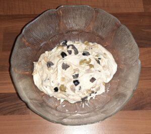Fougasse aux olives noires et vertes 6