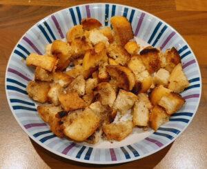 Mehlknepfle à la crème et lardons