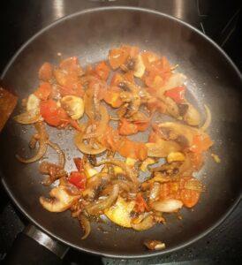 Nouilles aux oeufs sautees aux legumes 6