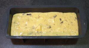 Cake poires pépites de chocolat