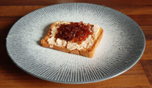 Confit oignon rouge au vinaigre balsamique