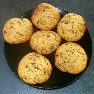 Cookies classiques vanille pépites chocolat