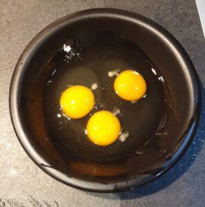 Omelette aux cèpes