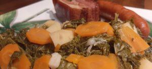 Potée au chou kale et a la saucisse de Morteau