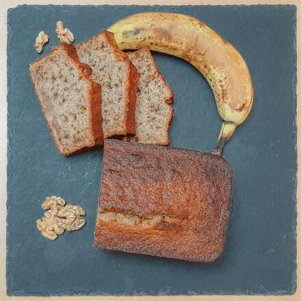 Banana bread ultra moelleux