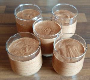 Véritable mousse au chocolat noir facile