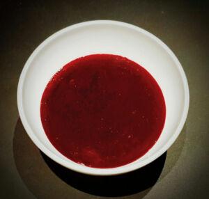 Coulis fruits rouges maison