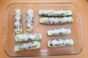 Courgettes farcies végétarienne