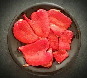 Poivrons rouges au four