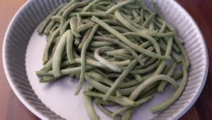 Comment congeler haricots verts